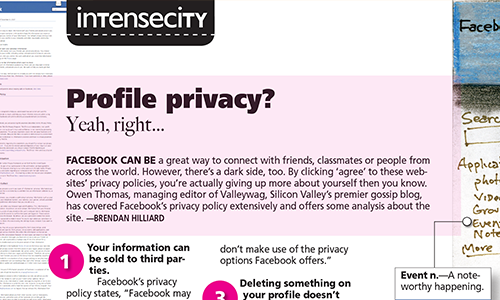 Profile privacy? Yeah, right…